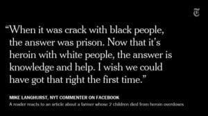 The image is from a Mach 18, 2017 tweet from The New York Times @nytimes reading: Our top 10 comments of the week http://nyti.ms/2nD8BJX