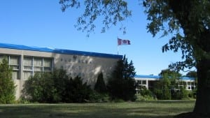 Bloorlea Middle School. The photo is from the school's website.