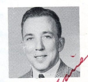 Graeme Decarie - 1962-63 Malcolm Campbell High School yearbook