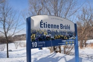 Étienne Brûlé Park is located on the east side of the Humber River within easy walking distance of old Mill Toronto. Jaan Pill photo