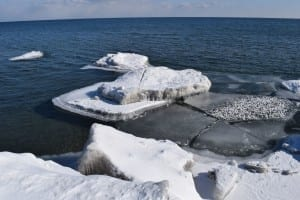 Shore of Lake Ontario between Etobicoke Creek and Applewood Creek in Long Branch. Jaan Pill photo