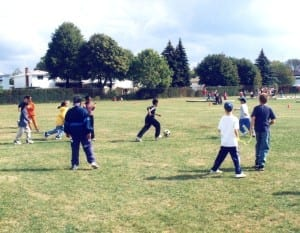 Students at play at a Peel District School Board elementary school in the late 1990. Jaan Pill photo