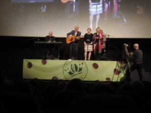The Bells performed three songs at the conclusion of the April 24, 2015 Toronto premiere of the documentary. Jaan Pill photo
