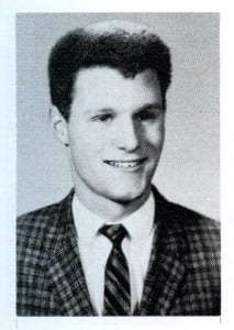 Marty Butler (MCHS '62). Source: MCHS 1961-62 yearbook.