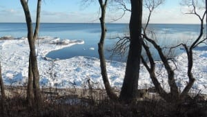 View of Lake Ontario from near Lake Promenade in Long Branch. Jaan Pill photo
