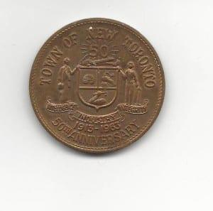 50th Anniversary commemorative coin obverse