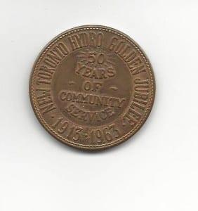 50th Anniversary commemorative coin reverse