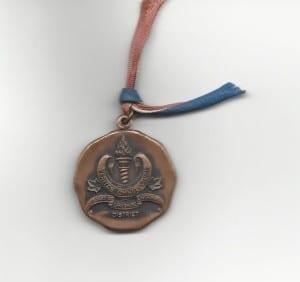 Attendance Medal obverse