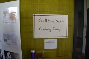 Detail from Jane's Walk display on May 3, 2015 inside Small Arms Building. Contact Jaan Pill, who will pass the message along, if you wish to be among the volunteers helping out with gardening at the Small Arms site. Jaan Pill photo