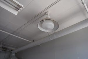 Light fixtures at Small Arms Building. Jaan Pill photo