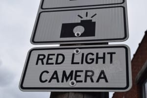 Toronto features Red Light Cameras at selected intersections. Watch your step. Jaan Pill photo