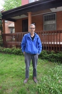 As a rule, the less photos of Jaan Pill, at his own website, the better. But I do like the photo Scott Munro took of me on May 12, 2015, in front of his house where he has lived for many years in Dundas, Ontario. When we meet in Kitchener, I park my car at his house in Dundas and then get a ride with Scott to the meeting. On May 12, 2015 on our ride to Kitchener, we talked about the Driver Education program that Mr. Lafon taught in the 1960s at Malcolm Campbell High School. Scott Munro photo