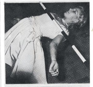 """The 1962-63 yearbook caption says: """"Let's Limbo!"""""""