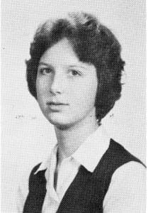 Jeanne Butcher (MCHS '63). Source: MCHS 1962-63 yearbook.