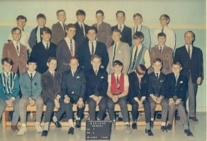 Graham Chartier, a Morison and Malcolm graduate, has shared with us this awesome Grade 7 Morison photo from 1966.