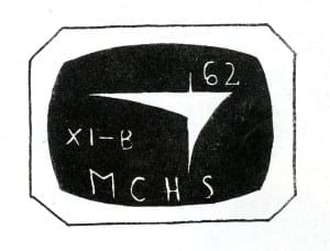 Logo for 11B during the 1961-62 school year, which is the class Charles Tsiang was in, if I have the information correct.