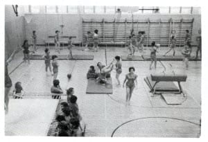 Gym Class at MCHS: Source: MCHs 1962-63 yearbook