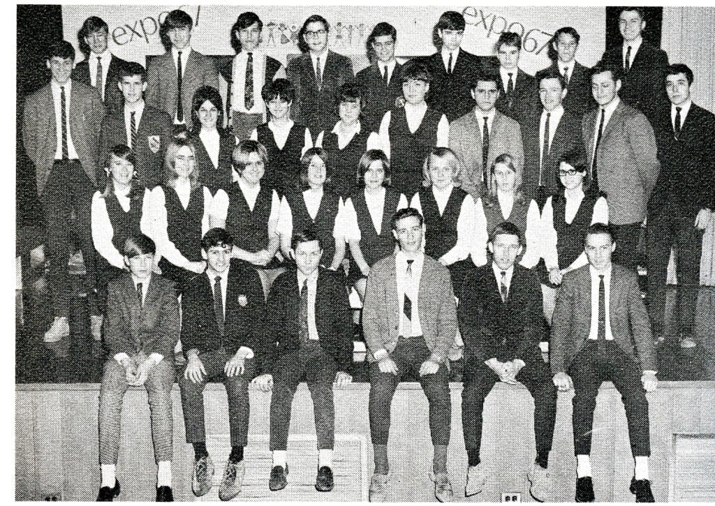 1966-67 Class Presidents. Source: MCHS 1966-67 yearbook
