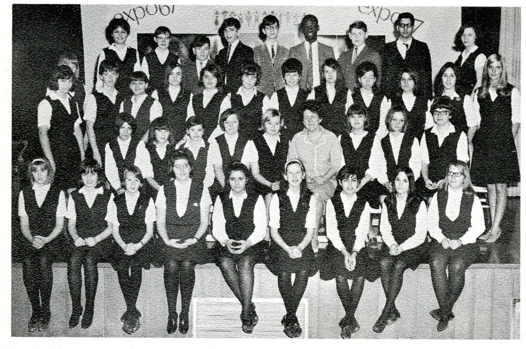 Red Cross, 1966-67. Source: MCHS 1966-67 yearbook