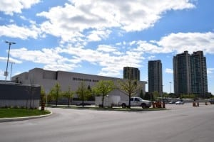 Sherway Gardens is a high-end shopping destination. It takes up a lot of space and has many stores. Jaan Pill photo