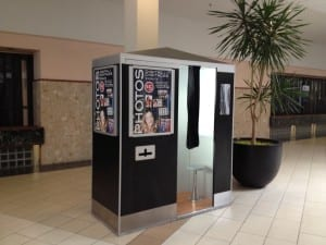Cloverdale Mall features a handy photo booth, where you can get your picture taken like you could in the 1960s. Jaan Pill photo