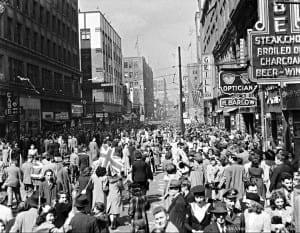 Montreal - End of WW II