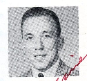 Mr. Decarie. Source: MCHS 1962-63 yearbook