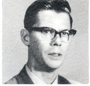 Mr. Kelly. Source: MCHS 1963-64 yearbook
