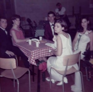 Pam and Irene at the Grad Dance 1968