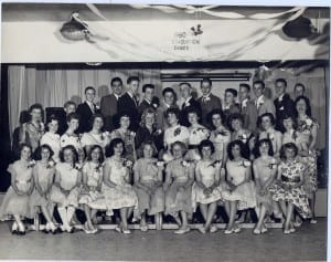 1960 Grade 7 Graduation Party Picture. Source: Ian Roach