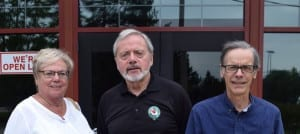 Among the attendees at the Sept. 9, 2015 meeting were (left top right): Lynn (Hennebury) Legge, Scott Munro, and Jaan Pill.