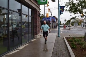 We owe many thanks to Peter Mearns for looking after the banking transactions required for the MCHS '60s Reunion. He met me in Long Branch at a TD bank in the building where he does locksmith & security work, and which by coincidence is a place where I occasionally do some banking. Jaan Pill photo