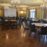View of the Humber Room, waiting to be set up for a meeting. The room has the perfect ambience for a high school reunion of size that we are anticipating. Jaan Pill photo
