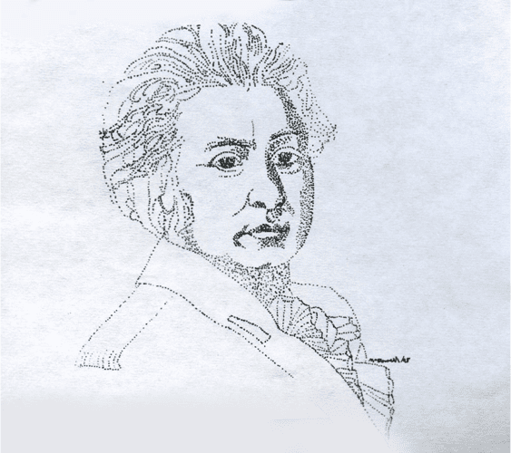 Sketch of Simcoe. It's from the notice, the text of which is posted at the post you are now reading.
