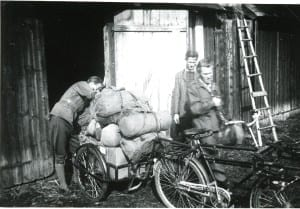 Preparations for the journey. Estonia, summer of 1944.