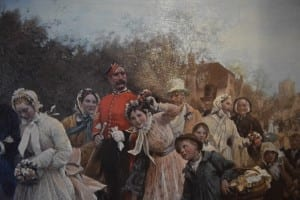 Detail: Wedding Procession. Old Mill Toronto. Jaan Pill photo