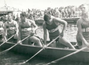 962 Juvenile War Canoe at Ottawa. Photo source: Nikki King