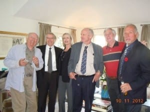 2012 Old CBC'ers @ a Wake. Photo source: Nikki King