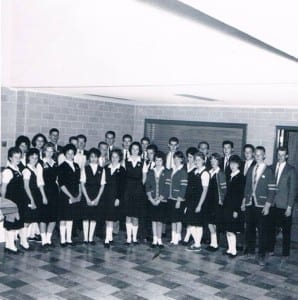 1961 Malcolm Campbell High School Prefect Board. Photo source: Nikki King
