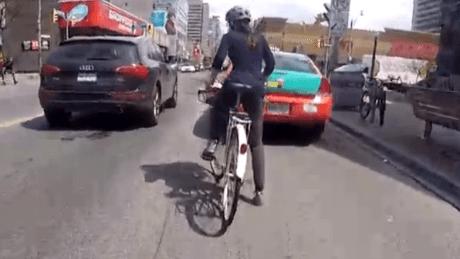 biking-on-bloor