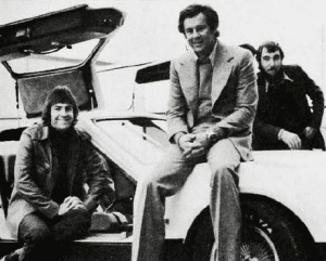 John Watson, Malcolm Bricklin and Pen Densham during an Insight shoot.