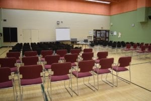 Room setup for Nov. 9, 2016 Inspiration Lakeview public consultation. I did not have time to stat for the full meeting as I also attended a public consultation, on Nov. 9, 2016 in Etobicoke, related to public consultations related to a recent, Province-wise OMB Review project. Jaan Pill photo