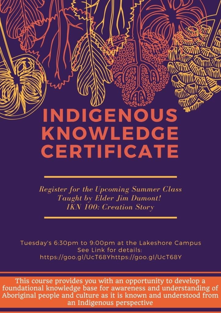 Indigenous Knowledge Certificate