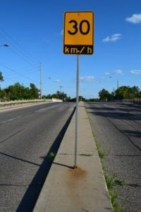 Image 4. Speed sign. Jaan Pill photo