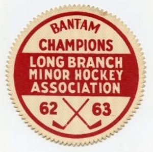 Championship crest: A prized possession of John Stewart.