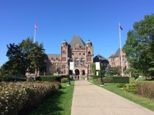 On the afternoon of Oct. 17, 2017, I did visit Queen's Park. Jaan Pill photo
