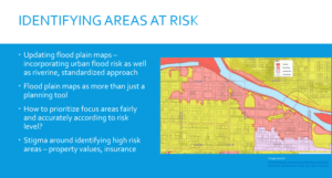 Screenshot from Oct. 17, 2017 webinar on Flood Risk in Ontario