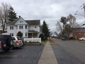 The house on the left in Williamsville, NY caught my eye. Jaan Pill photo