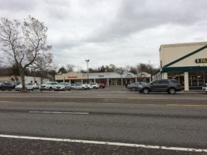Plaza at which the Talbots store in Williamsville, NY is located. Jaan Pill photo