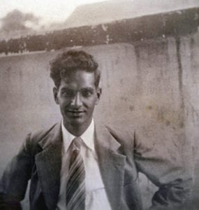 Alfred Ramcharan. The photo is from the draft PDF that accompanies the post you are now reading. The caption reads: Source: Crowley family website.